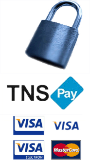 Your payment will be processed via RBS WorldPay Secure Payment Gateway